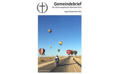Gemeindebrief August / September 2021